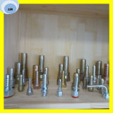 Jic/Bsp/JIS/SAEの女性の適切な油圧ホースフィッティング