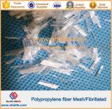 4mm 6mm 8mm 12mm 16mm 19mm 13mm 20mm PP Polypropylene MeshかFibrillated Concrete/Cement Fibre Fiber
