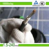 承認されたTUVは銅DC太陽PVケーブル4mm2を錫メッキした