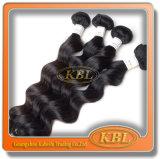 Много медленно двигают выдвижения человеческих волос волос Weave малайзийские