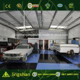 Taller moderno prefabricado de la reparación del coche