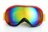 Beschermende brillen van Snowboard van de Ontruiming van het Effect van de AntiMist van de korting de Anti