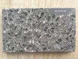 두 배 색깔 인공적인 대리석 미러 표면 석영 돌 큰 석판