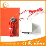 A borracha do calefator do silicone cobre folhas flexíveis do silicone