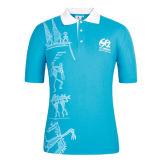 T-shirt fabbrica di disegno 100% di polo del cotone con logo
