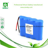 Paquete 5200mAh 7.4V 11.1V de la batería de litio para el GPS