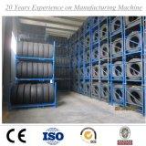 Depósito de almacenamiento de neumáticos Estante, Todo radial de acero del neumático del carro de almacenamiento