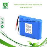 Pilas de batería del litio 18650 3.7V 2000 2200 2600mAh para la linterna