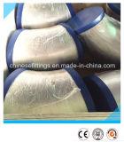 Codo inconsútil del acero inoxidable Wp316L 45degree de ASME con el casquillo plástico