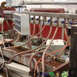Linha equipamentos da extrusora de produção ao ar livre da placa do PE WPC