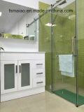 Weißer Gloss MDF Bathroom Vanity mit Soft Close und Glass (AB-90B)