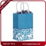 Хозяйственные сумки бумажных мешков Brown Kraft покупателей одичалой сини фабрики сразу Yonder