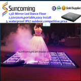 Effet imperméable à l'eau lumineux extérieur DEL Dance Floor de miroir