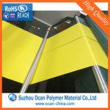 Желтый лист PVC Matt/лоснистый твердый для бирки супермаркета