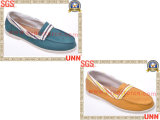 Chaussures de toile classiques du tissu des femmes (SD8207)