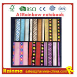 Rainbow Paper Notebook Side con Print