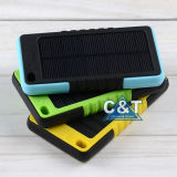 banco Solar Charger de 10000mA Waterproof Portable Power para o iPhone