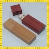 Movimentação de madeira barata do flash do USB de Eco da alta qualidade (GC--001)