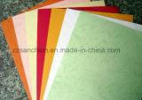 Grão de couro colorida papel gravado com grande qualidade
