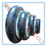 150/200/250/300 mm-kleiner fester Gummireifen