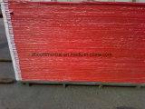 Panneau rouge de mousse de PVC de Colore