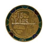 上販売法の金属の高品質の盾の挑戦硬貨