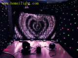 Wedding、Stage DisplayのためのRGB LED Vision Curtain Video Curtain