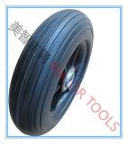 200X50 PU 거품 타이어 단단한 외바퀴 손수레 바퀴