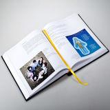 Libro redondo de la espina dorsal del Hardcover