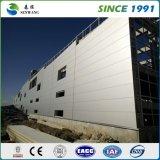 Entrepôt préfabriqué de structure métallique de fabrication de la Chine