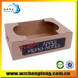 Wellpappe Papier Kästen für Apples mit Kraftpapier