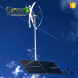 système 5kw hybride domestique avec le vent et l'énergie solaire