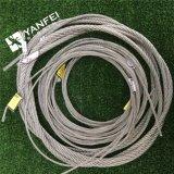 Câble métallique de l'acier inoxydable 316 d'AISI 304/avec le diamètre 10mm
