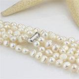 Комплект перлы барокка AA 8mm стренг способа пресноводный 3