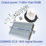 Venda dual de interior 900 del repetidor barato del G/M repetidor/aumentador de presión/amplificador de 1800 señales