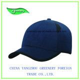 Chapeau de sport de base-ball de sergé de coton de marine de mode