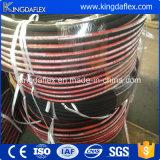 Tubo flessibile idraulico del tubo flessibile di gomma resistente dell'olio con i collegamenti 1sn 2sn