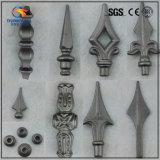 造られた庭の塀の装飾の錬鉄Spearpoint