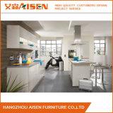 Armadio da cucina lineare elegante della lacca della mobilia della cucina di stile