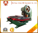 Punzonadora barata del CNC Jh-2 con la plataforma que introduce