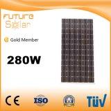 Панель солнечных батарей силы 280W Futuresolar самого лучшего поставщика Китая зеленая Mono для более дешевого цены