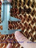 Refrigerador de la pista de la celulosa de la refrigeración por evaporación del invernadero