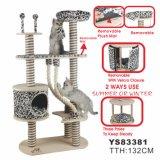 Albero di legno felice di lusso del gatto (YS83381)