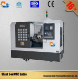 Torno do CNC da elevada precisão de Ck50L para o metal