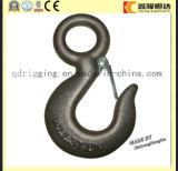 La gota G-210 forjó el gancho de leva de la horquilla del acero de carbón con el cierre