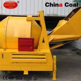 Mezclador concreto accionado del motor diesel