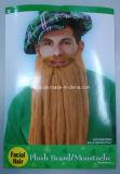 견면 벨벳 St 패트릭 일 Beard&Moustache (BA006)