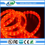 Alta serie impermeable de la tira de voltio (110V-220V) los 5W/M SMD3528 LED