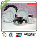 Cerámica de cerámica en Blanco y Negro Diseño