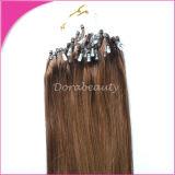 熱い販売のペルーの人間のバージンの毛まっすぐなマイクロリンク毛